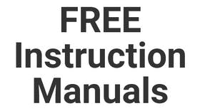 Free Instruction Manuals