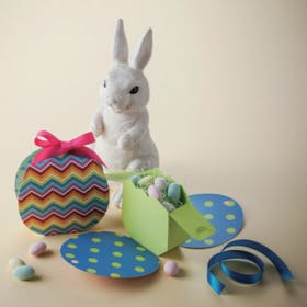 Easter Egg Gift Box and Card