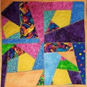 Crazy Quilt Technique
