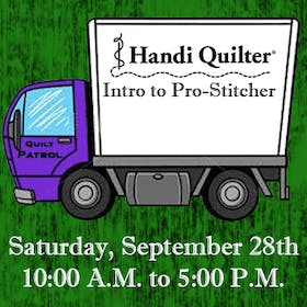Handi Quilter Event: Intro to Prostitcher
