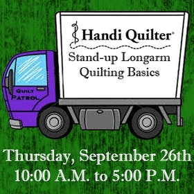 Handi Quilter Event: Stand-up Longarm Machine Quilting Basics