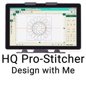 HQ Pro-Stitcher  – Design with Me