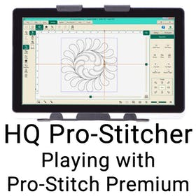 HQ Pro-Stitcher - Playing with Pro-Stitcher Premium