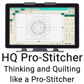 Thinking and Quilting Like a Pro-Stitcher