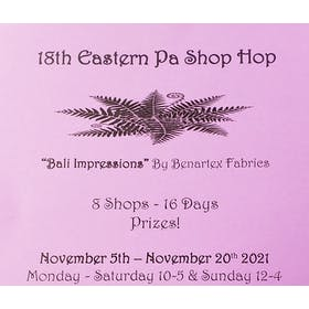 18th Eastern PA Shop Hop