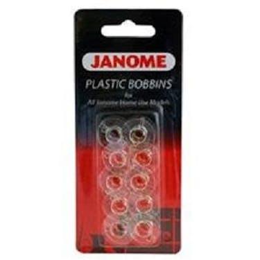 Janome Bobbins - (Clear Plastic)