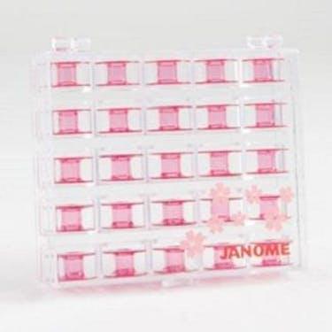 Janome Bobbins - (Cherry Blossom Pink)