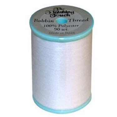 The Finishing Touch 90wt White Bobbin Thread (1200yds)