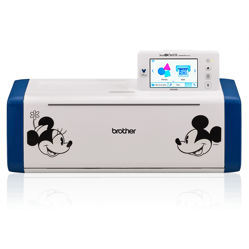 Brother Disney ScanNCut DX Innov-is SDX230D Limited Edition