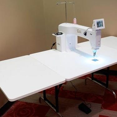 Baby Lock Tiara Extension Table Pocono Sew Vac Best Baby Lock Tiara Sewing Machine
