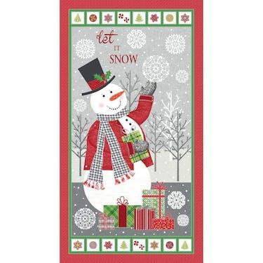 Benartex Contempo Let It Snow ❄ Panel by Cherry Guidry 23