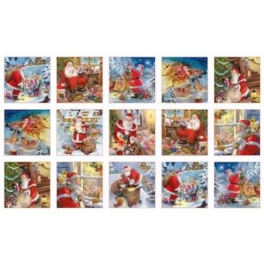Elizabeth Studio Santa Claus is Coming White Multi by Gilberto Marchi 44