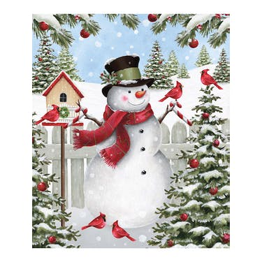 Northcott Winter Welcome Fabric Panel By Eml Studio 25