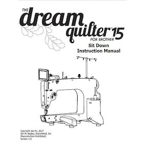 FREE Digital Manuals for Brother The Dream Quilter 15S