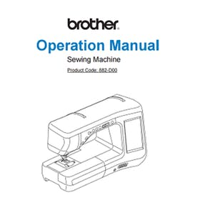 FREE Instruction Manuals for Brother DreamWeaver VQ3000