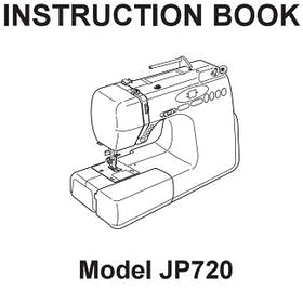 FREE Instruction Manuals for Janome Jem Platinum 720