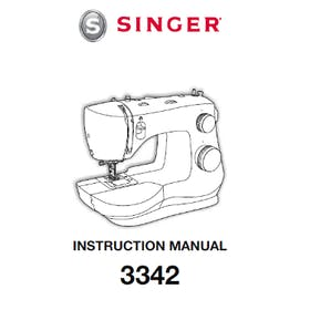 FREE Instruction Manuals for Singer Fashion Mate 3342