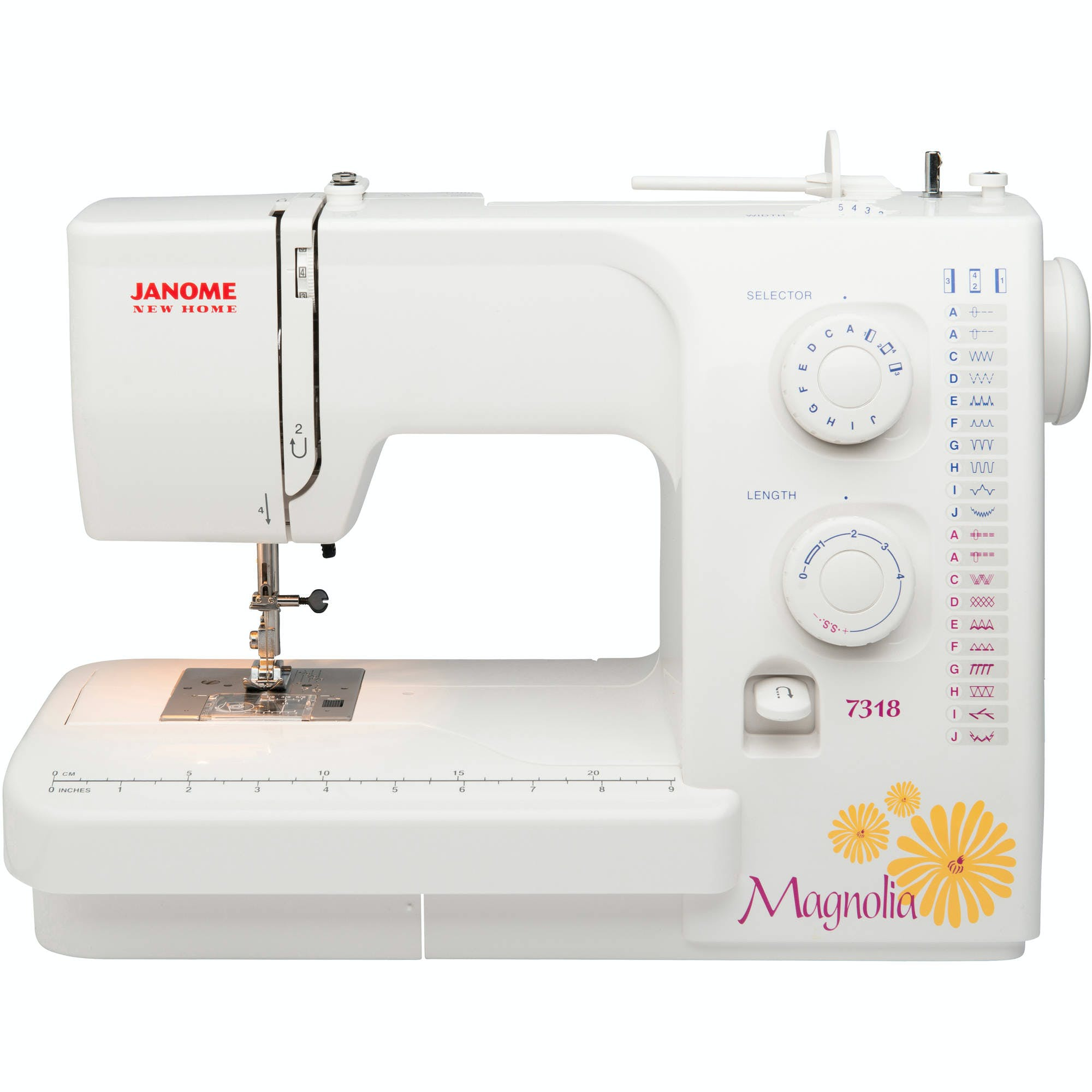 Janome Magnolia 7318 Pocono Sew Vac Bernina 830 Sewing Machine Threading Diagram