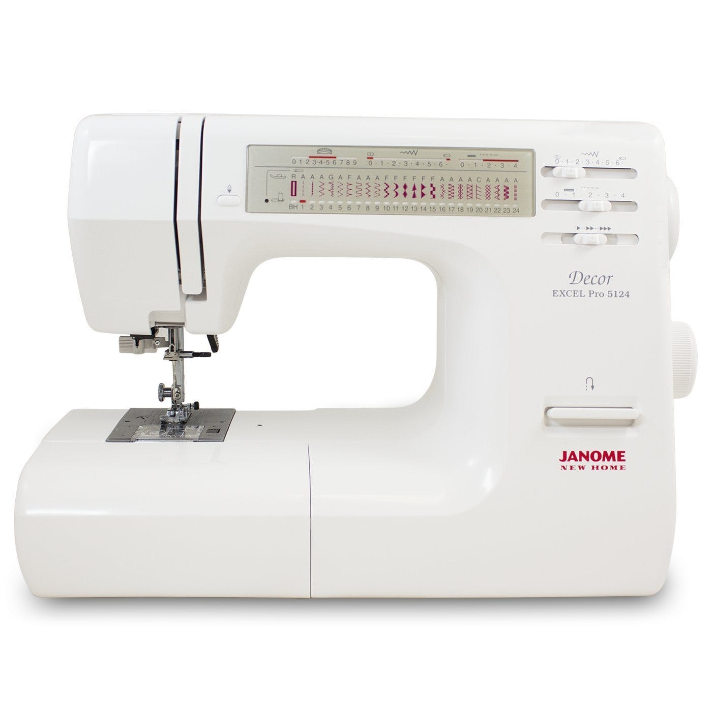 Quilting Accessories For Janome Decor Excel Pro 5124