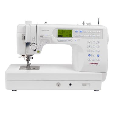 Janome MC6600P Heavy Duty