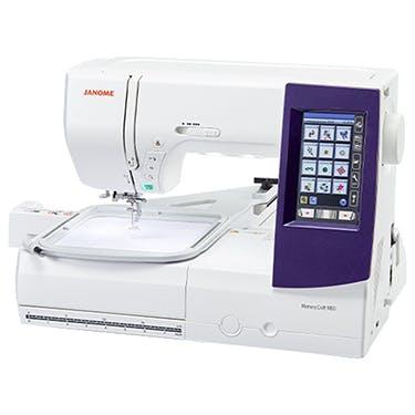 Janome Memory Craft 9850 Sewing/Embroidery Machine