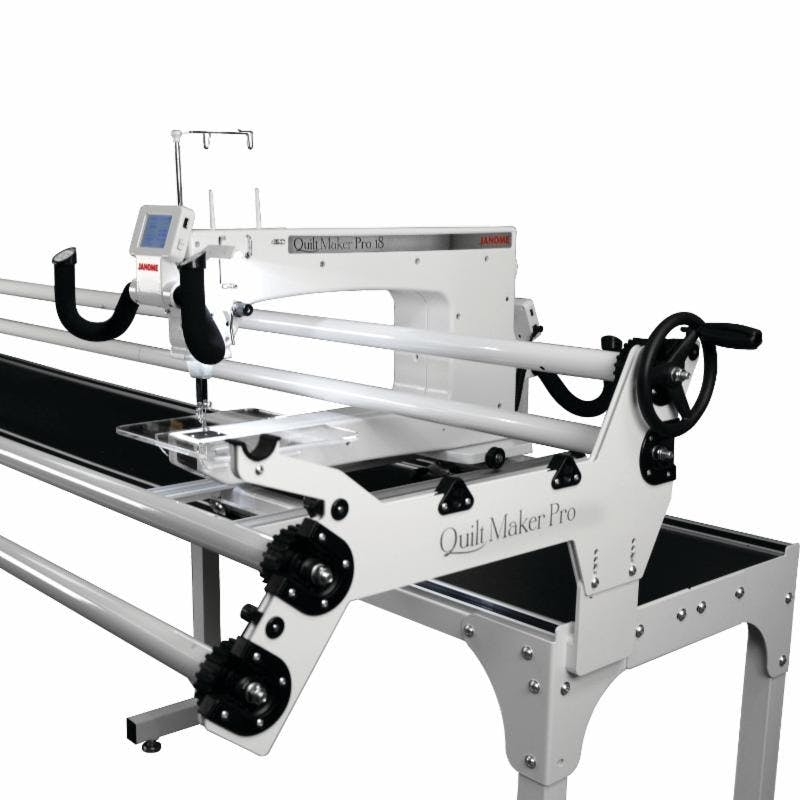 Janome Quilt Maker Pro 18 w/12 Foot Metal Frame - Pocono Sew & Vac