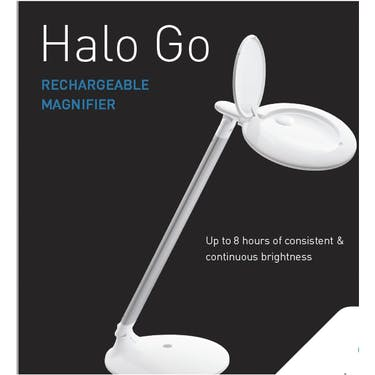 DayLight Halo Go Rechargeable Magnifier