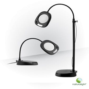 Daylight 5 inch LED Floor/Table Mag Lamp