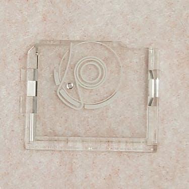 Janome Square Clear Bobbin Cover