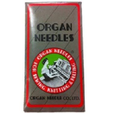 Organ Top Stitch Needles Titanium (Choose Size)