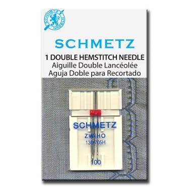Schmetz Double Hemstitch Needles