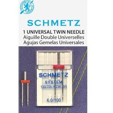 Schmetz Twin Needle (130/705 H ZWI BR) Size: 6.0/100
