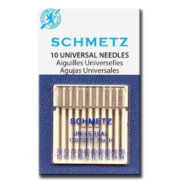 Schmetz Universal Needles Size Assortment (70/10 - 80/12 - 90/14)
