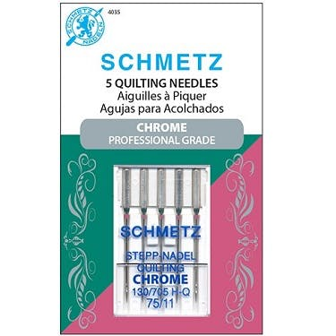 Schmetz Chrome Quilting Needles (Choose Size)