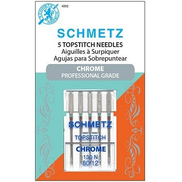 Schmetz Chrome Topstitch Needles (Choose Size)