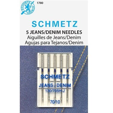 Schmetz Jeans Needles (Choose Size)