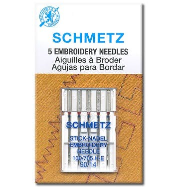 Schmetz Embroidery Needles (Choose Size)