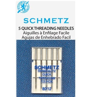 Schmetz Quick Threading Needles (Choose Size)