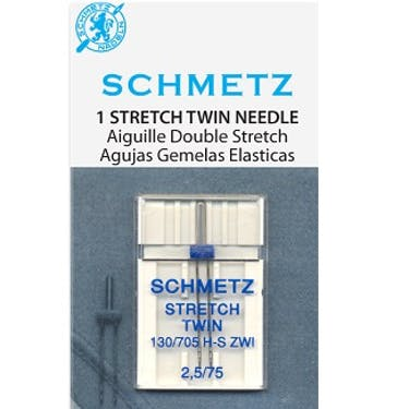 Schmetz Stretch Twin Needles (Choose Size)