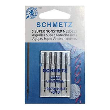 Schmetz Super Non-Stick Needles (Choose Size)