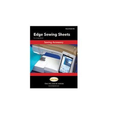 Baby Lock Edge Sewing Sheets