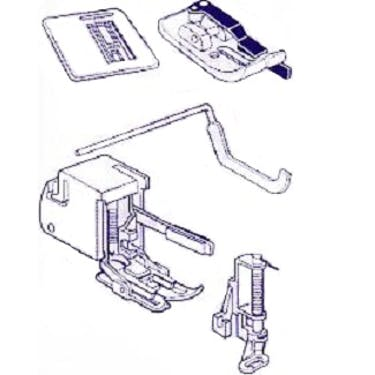 Janome Quilting Attachment Kit (Jem)