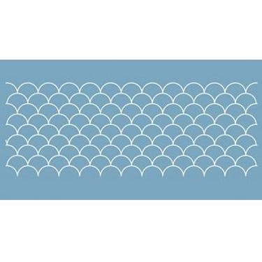 Baby Lock Quilt Pattern Board - 2 inch Clam