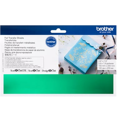Brother Foil Transfer Sheets Green