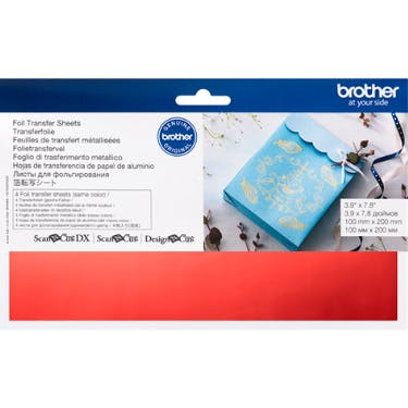 Brother Foil Transfer Sheets Red