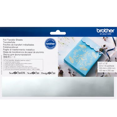 Brother Foil Transfer Sheets Silver