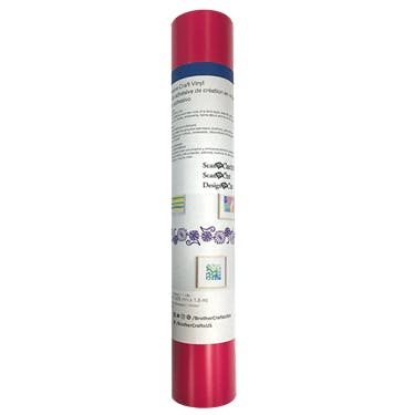 Brother Hot Pink Adhesive Craft Vinyl (6 ft)