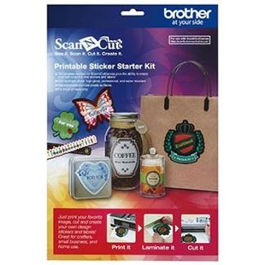 Brother Printable Sticker Starter Kit