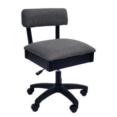 Arrow Lady Gray Hydraulic Sewing Chair