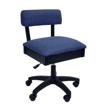 Arrow Duchess Blue Hydraulic Sewing Chair